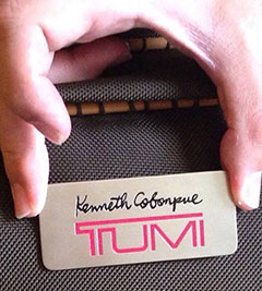 Kenneth Cobonpue / Tumi collaboration teaser