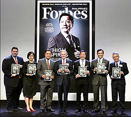 8 PHL firms in Forbes list of world's largest companies