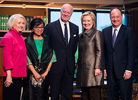 Peace panel chair Coronel-Ferrer is Clinton awardee