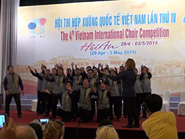 Filipino choir groups triumph in Vietnam choral competition