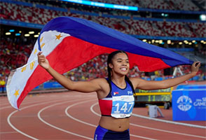 Team Philippines rule SEA Games sprints, boxing and softball