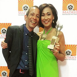 "Cherie Gil, ""Mana"" win Madrid Film Festival top prize"