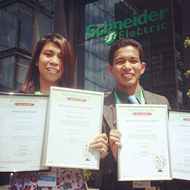 PUP students in Top 3 of Go Green Finals