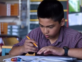 Gifted Pinoy child shines in Switzerland school