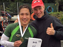 Triathlete Roland Espina Jr wins Ireland's Ironman games