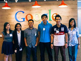 UP students are Google's Asia-Pacific Champions