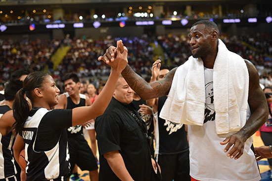 12-year-old Kristine Cayabyab earns praise from Lebron