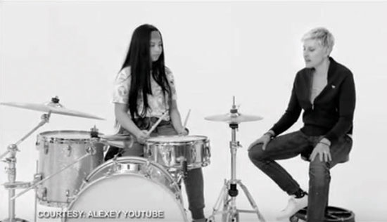 Ellen DeGeneres picks Fil-Am drummer for girl power advocacy