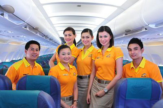 Cebu Pacific one of 'best-looking' flight crew worldwide