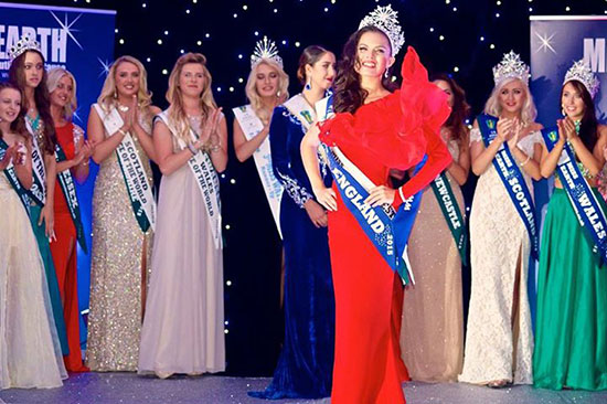 Fil-Brit Katrina Kendall crowned Ms Earth England