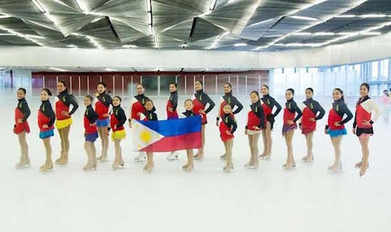 Filipina skaters rule Asian Jr Figure Skating Challenge