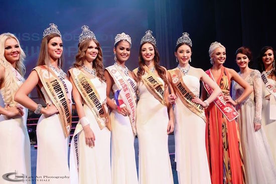 Miss Globe 2015 winners
