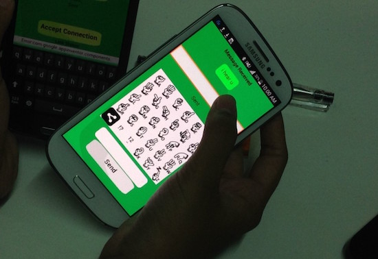 "Mimaropa pupils develop ""I Hear U"" app for Pinoy PWDs"