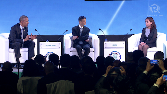 SALt's Aisa Mejino shares APEC stage with Obama, Jack Ma