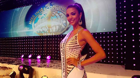 Christi McGarry 1st runner up in Miss Intercontinental