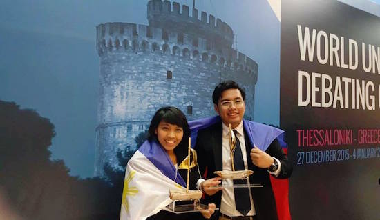DLSU win World Universities Debating Championships