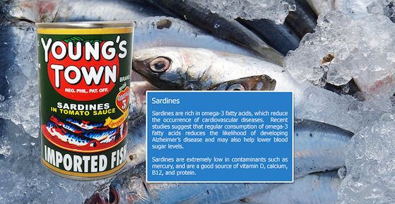 Young's Town sardines