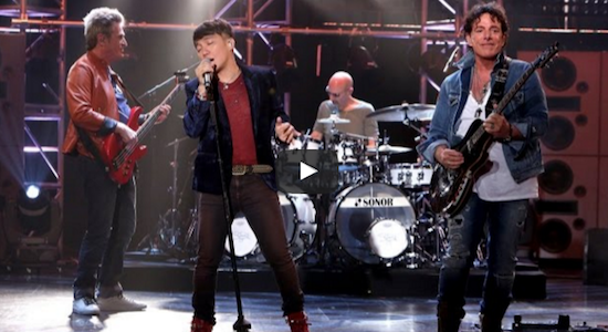 Arnel Pineda, Journey star in Ellen DeGeneres' TV show