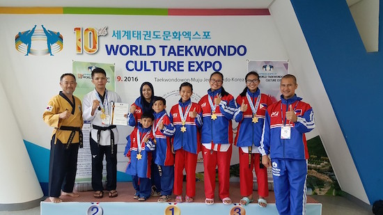 PH team wins 5 World Taekwondo Golds