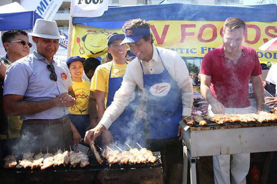 Canada's PM Trudeau promotes Pinoy food & culture