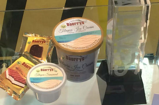 CLSU's Tilapia ice cream wins int'l gold award