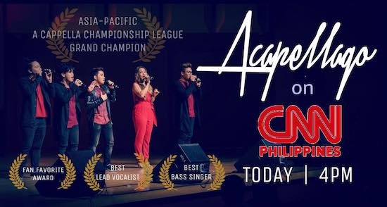 Acapellago triumphs at A Capella Asia Pacific Championship