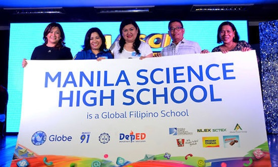 Globe Telecom and Manila Science High School (MaSci) Silver Jubilarians