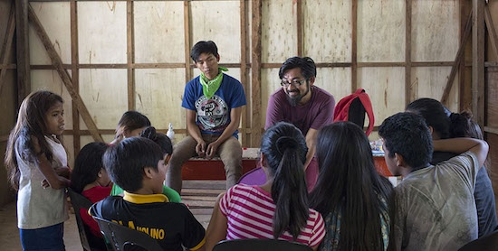 ABUYO youth help Tacloban kids recover from Haiyan