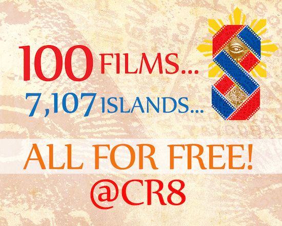 100 best films for FREE at Cinema Rehiyon 8