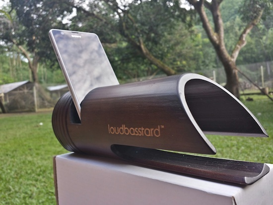 Loudbasstard champions the bamboo sound amp