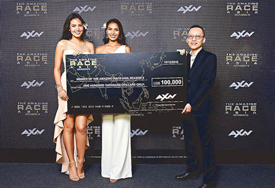 Maggie Wilson & Parul Shah win Amazing Race Asia