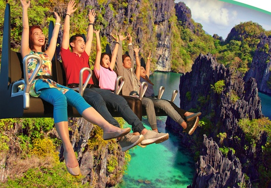 PH Tourist spots showcased in Agila Flying 4D Theater