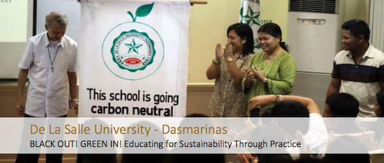DLSU-D lone PHL school in global sustainable network
