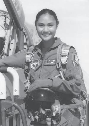 Filipina Top Gun pilots US Air Force F-16 Fighter Jet