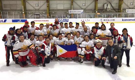Pinoy Ice Hockey team bags Asian Winter Games Bronze