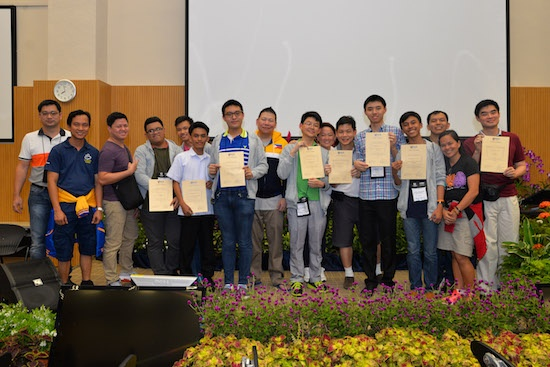 Pinoy kids win in S'pore programming tilt