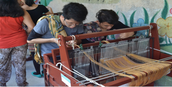 Innovative weaving technology helps special needs students