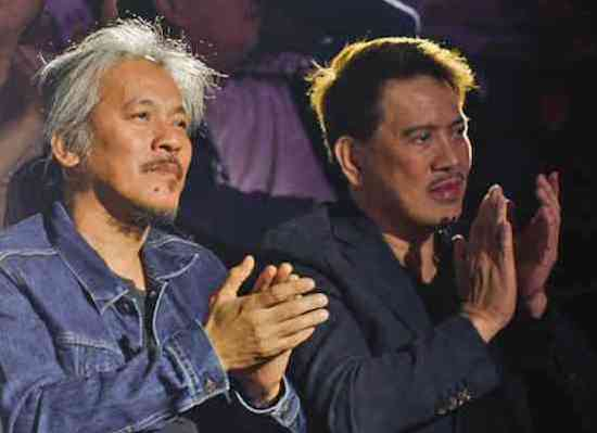Lav DIaz and Brilliante Mendoza