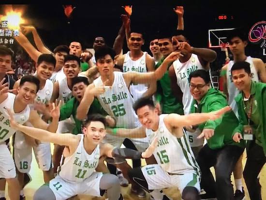 DLSU Green Archers sweep Taiwan's BLIA Cup