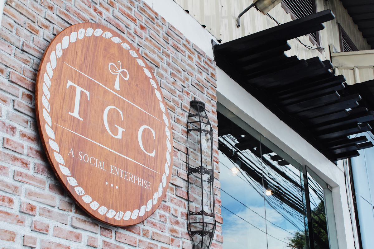 The Giving Café in Mandaluyong serves coffee for a cause