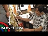 "80-Year Old Seamstress for the Black Nazarene Sews as ""Act of Devotion"""