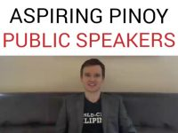 Great Tip for Aspiring Pinoy Public Speakers