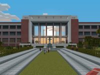 Architecture student JB Cunanan builds UP Diliman campus in Minecraft