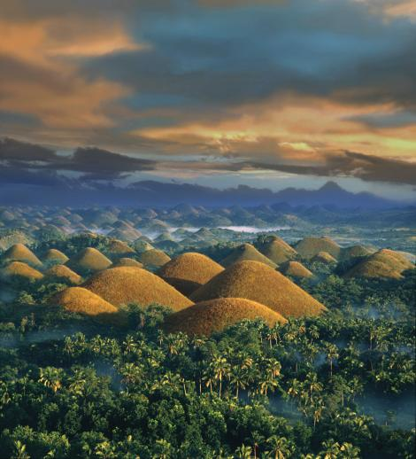 A New National Geographic Book Lists Bohol Chocolate Hills Among Worlds Most Wild And Beautiful Places PHOTOGRAPH BY PER ANDRE HOFFMANN AGE FOTOSTOCK
