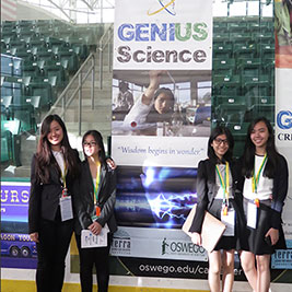 2015 GENIUS Olympiad winners