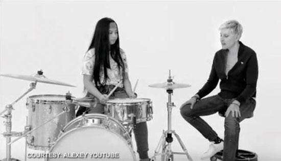 Ellen DeGeneres picks Fil-Am drummer for girl power advocacy