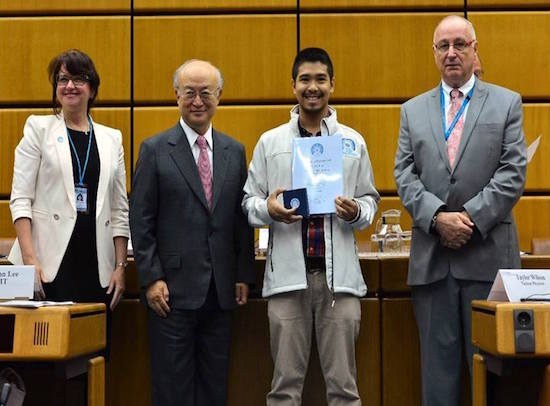 Anton Taquintic wins in Vienna Nuclear Olympiad