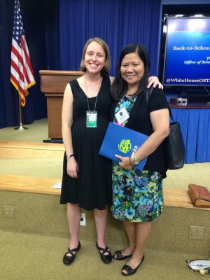 Teacher Jennifer Cheng invited to White House Climate event