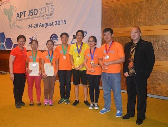 PH Team undefeated champs in ASEAN Science Odyssey