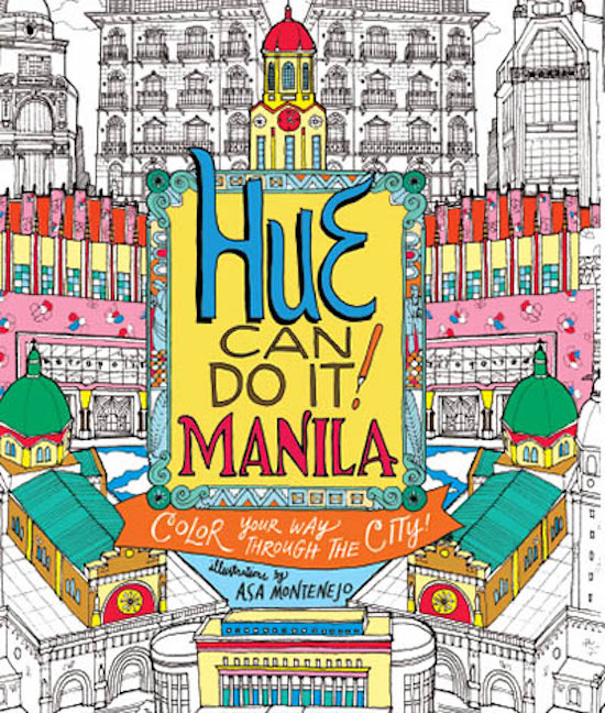 Manila's iconic spots featured on global coloring book